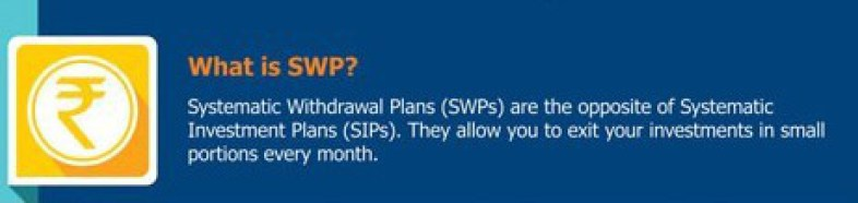 swp systematic withdrawal plan under utilized strategy - SWP Systematic Withdrawal Plan : Under Utilized Strategy