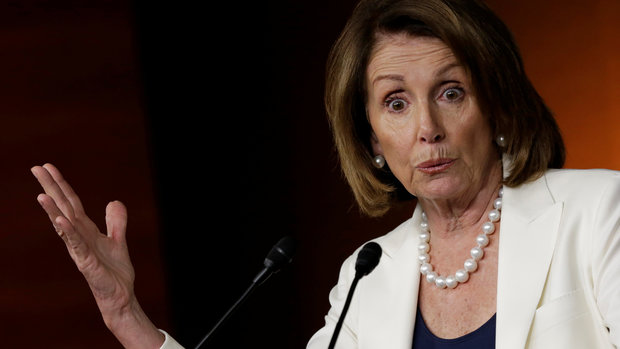 nancy pelosi this was the week donald trump went rogue - Nancy Pelosi: This Was The Week Donald Trump 'Went Rogue'
