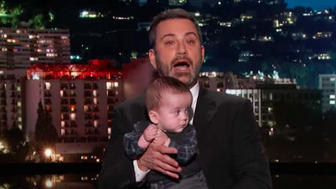 jimmy kimmel makes another emotional plea for childrens health care - Jimmy Kimmel Makes Another Emotional Plea For Children's Health Care
