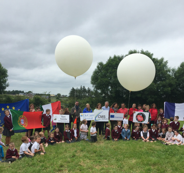 decare dental and gortskehy national school join forces in space - DeCare Dental and Gortskehy National School join forces in space