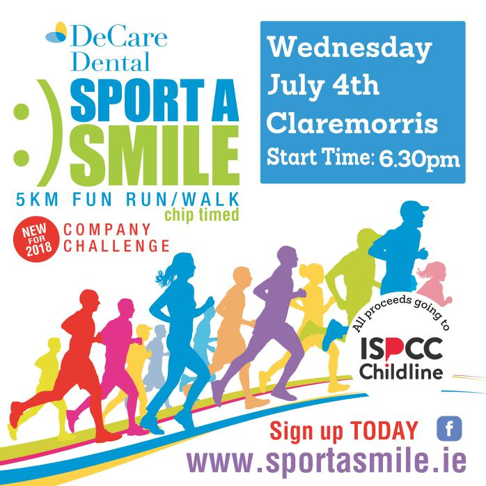 1529384153 248 decare dental sport a smile for ispcc childline - DECARE DENTAL SPORT A SMILE FOR ISPCC CHILDLINE