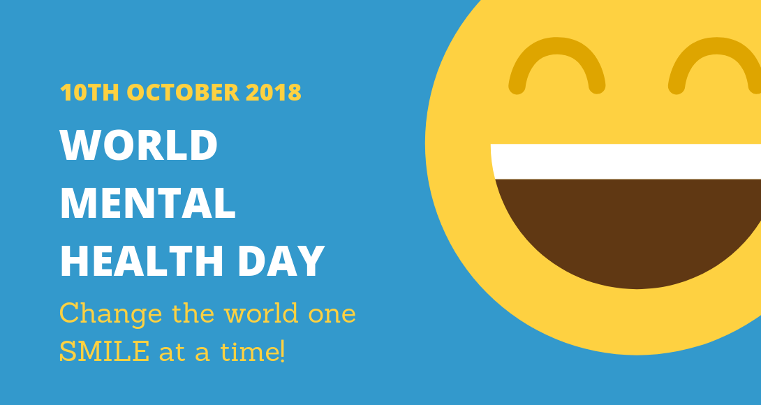 world mental health day 10th october 2018 - World Mental Health Day 10th October 2018