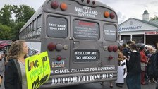 deportation bus state senator michael williams turns himself in to jail - 'Deportation Bus' State Senator Michael Williams Turns Himself In To Jail