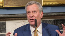 nyc mayor bill de blasio unveils plan to guarantee health care for all new yorkers - NYC Mayor Bill De Blasio Unveils Plan To Guarantee Health Care For All New Yorkers