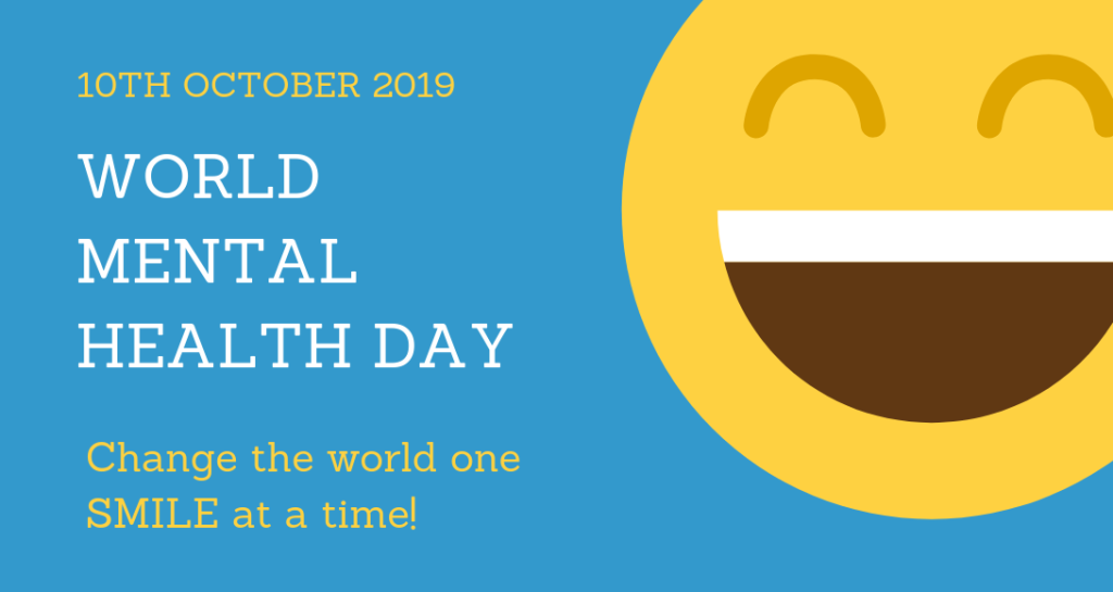 1570613659 546 world mental health day 10th october 2019 - World Mental Health Day – 10th October 2019