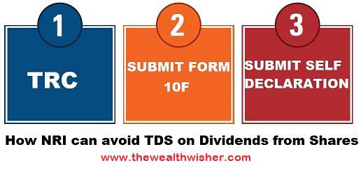 391 avoiding tds on dividends residents nris - Avoiding TDS on Dividends (Residents & NRIs)