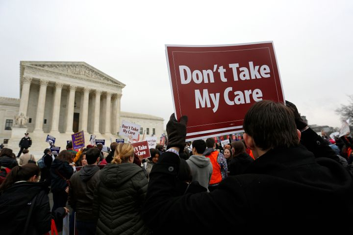 trumps last desperate attack on obamacare goes to the supreme court this week - Trump's Last, Desperate Attack On Obamacare Goes To The Supreme Court This Week
